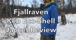 Fjallraven Eco-Shell Jacket Review