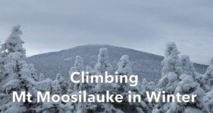 Climbing Mt Moosilauke in Winter