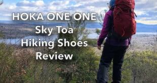 Hoka One One Sky Toa Hiking Shoes Review