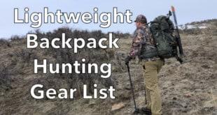 Lightweight Backpack Hunting Gear Lis