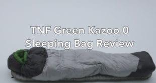 The North Face Green Kazoo 0 Sleeping Bag Review