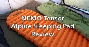 Nemo Tensor Alpine Air Pad Review
