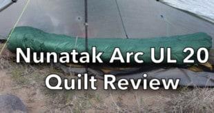 Nunatak Arc UL 20 Quilt Review