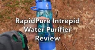 Adventure Medical Kits RapidPure Intrepid Water Purifier Bottle Review