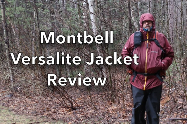 Montbell Versalite Rain Jacket Review