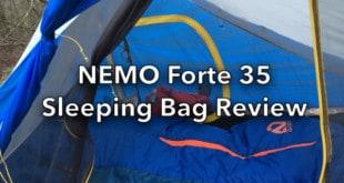 NEMO Forte 35 Sleeping Bag Review