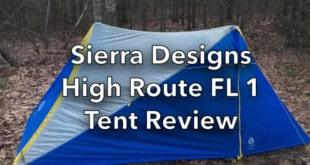 Sierra Designs High Route FL 1 Tent Review