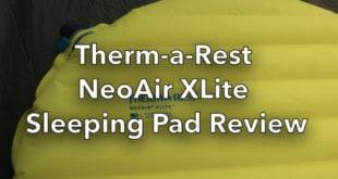 Thermarest NeoAir Xlite Sleeping Pad review-