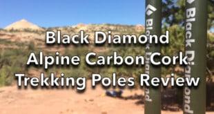 Black Diamond Alpine Carbon Cork Trekking Poles Review