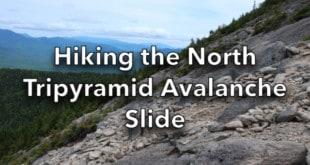Hiking the North Tripyramid Avalanche Slide