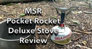 MSR Pocket Rocket Deluxe Stove Review