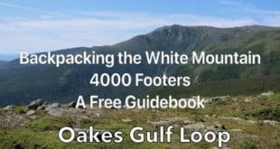 Oakes Gulf Loop Backpacking Trip Plan