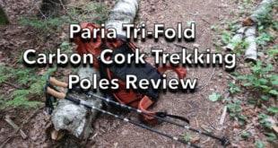 Paria Outdoor Tri-Fold Carbon Cork Trekking Poles Review