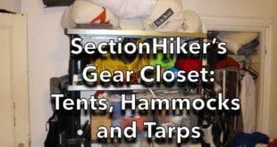SectionHiker's Gear Closet: Tents, Hammocks and Tarps