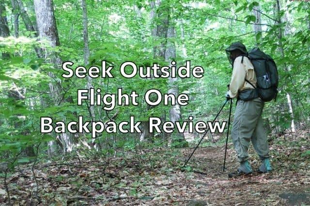 Seek Outside Flight One Backpack Review