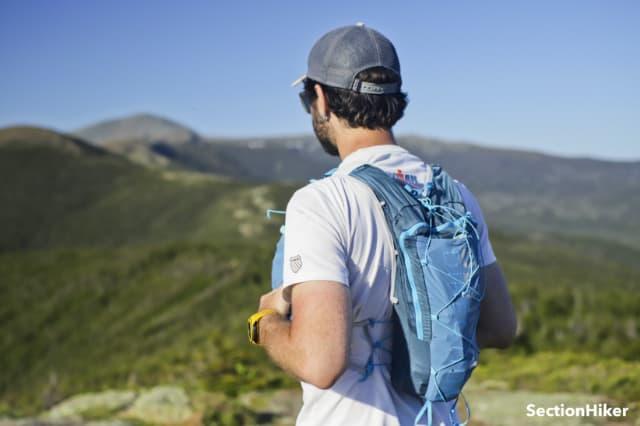 De Mountain Vest 5.0 kon ongelooflijk goed een run op de 18-mijls Presidential Traverse in de Witte Bergen aan.  Met voldoende capaciteit om al mijn benodigdheden te dragen en ultiem comfort, was ik erg blij met hoe goed het presteerde