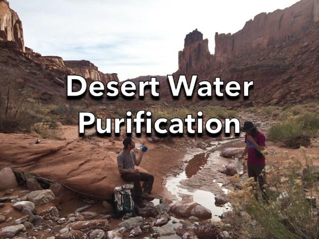 Desert Water Purification