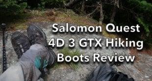 Salomon Quest 4D 3 Hiking Boot Review