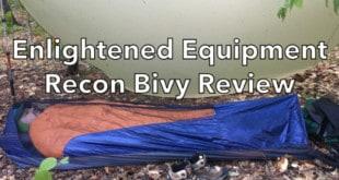 Enlightened Equipment Recon Bivy Review
