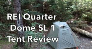 REI Quarter Dome SL 1 Tent Review