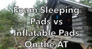 Foam Sleeping Pads vs Inflatable Pads on the Appalachian trail