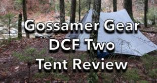 Gossamer Gear DCF Two Tent Review