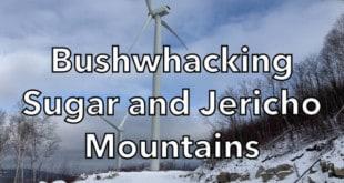Bushwhacking Sugar and Jericho Mountains