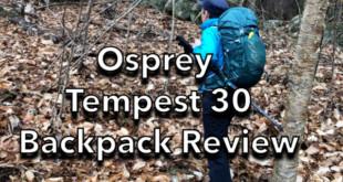 Osprey Tempest 30 Backpack Review