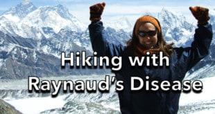 Hiking with Raynaud's Disease