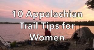 10 Appalachian Trail Tips for Women