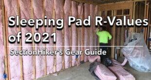 Sleeping Pad R-Values of 2021