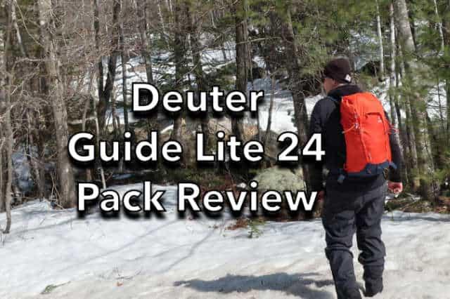 Deuter Guide Lite 24 Backpack Review