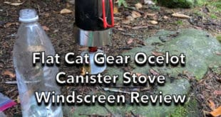 Flat Car Gear Ocelot Canister Stove Windscreen Review
