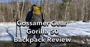 Gossamer Gear Gorilla 50 Backpack Review