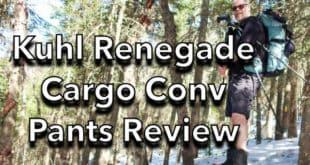 Kuhl Renegade Cargo Convertible Hiking Pants Review
