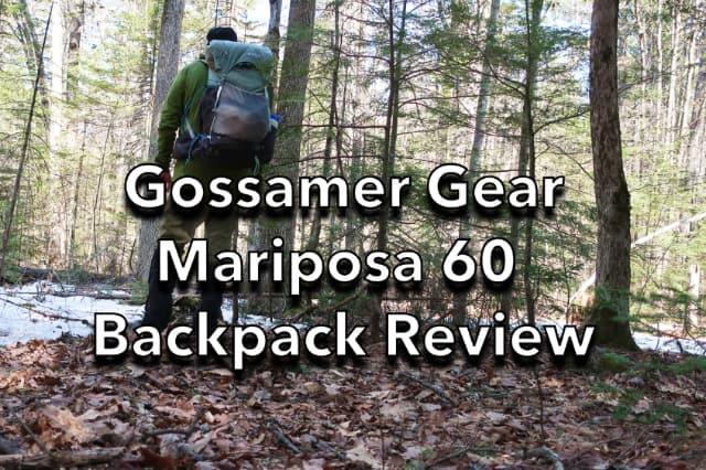 Gossamer Gear Mariposa 60 Backpack Review