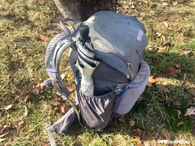 I love all of the pockets and external storage on the Gossamer Gear Mariposa 60 backpack