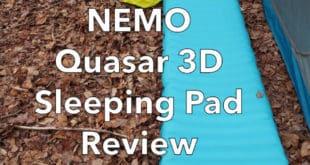 NEMO Quasar 3D Sleeping Pad Review
