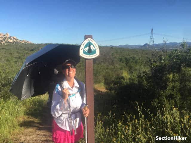 The Gossamer Gear Liteflex Trekking Umbrella is my favorite piece of trail gear