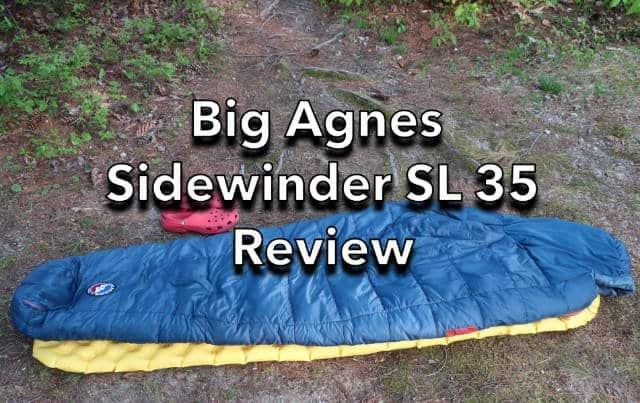 Big Agnes Sidewinder SL 35 Sleeping Bag review