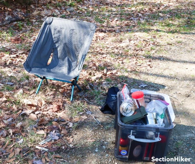 Car camping with the Helinox Chair Zero