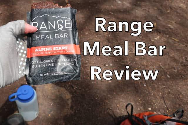 Range Meal Bar Review
