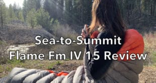 Sea to Summit Flame Fm IV 15 Sleeping Bag Review