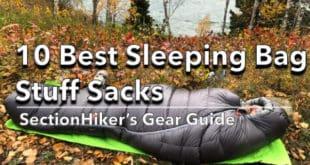 10 Best Sleeping Bag Stuff Sacks