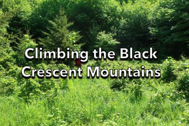 Climbing the Black Crescent Mountains