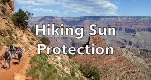 Hiking Sun Protection
