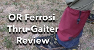 Outdoor Research Ferrosi Thru-Gaiter Review