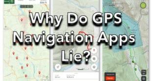 Why Do GPS Navigation Apps Lie