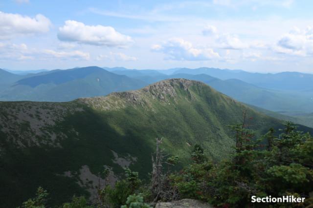 Bondcliff Mountain as seen from West Bond