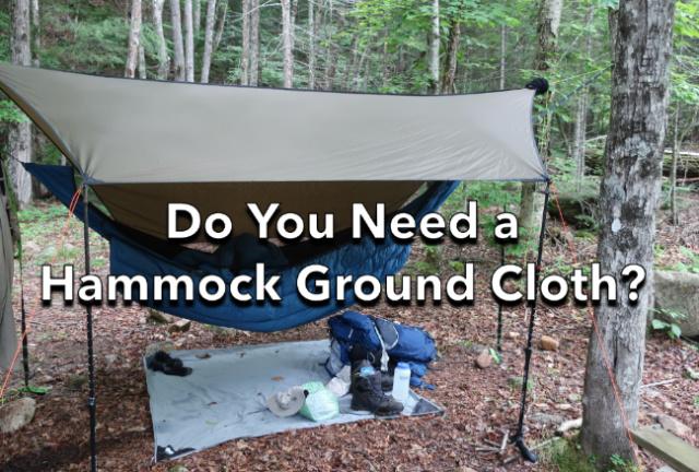 Do You Need a Hammock Ground Cloth